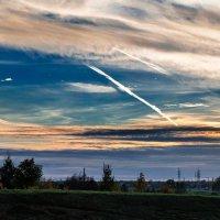 Панорама осеннего заката :: Анатолий Клепешнёв