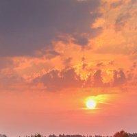 Красивый восход :: Юрий Спасенников