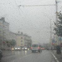 В нашем городе дождь... :: Герович Лилия