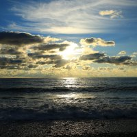 Облака на закате :: valeriy khlopunov