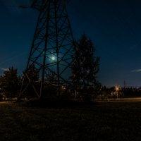 Луна запуталась... :: Владимир Безбородов
