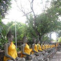 Таиланд. Храмовый комплекс Аютхайя. :: Лариса (Phinikia) Двойникова