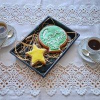 Рождение звезды или кофе со звездой :: Анатолий Чикчирный