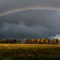радуга в октябре :: Наталья Крюкова