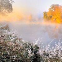 Туманные рассветы октября... :: Андрей Войцехов