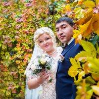 свадьба осенью всегда яркая :: Мария Корнилова