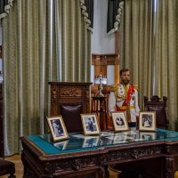 Кабинет царя. Ливадийский дворец :: Андрей Щетинин