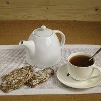 Чай с печеньем :: Елена Ел
