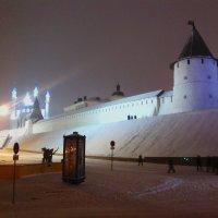Казанский кремль зимней ночью. :: Сергей