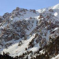 Зимние горы :: Горный турист Иван Иванов