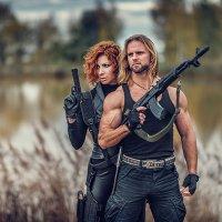 Guns and roses :: Vitaly Shokhan