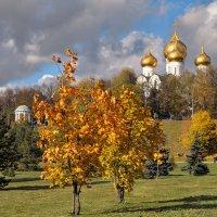 Золото осени, золото куполов :: Николай Белавин