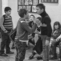 Однажды в школе... :: Владимир Голиков