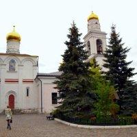 Храм Рождества Пресвятой Богородицы в Старом Симонове. Основан в 1370 году Здесь похоронены Пересвет :: Владимир Болдырев