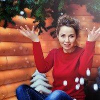 Новогодняя фотосессия в студии Самары :: марина алексеева