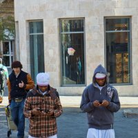Копты на улице Иерусалима :: Игорь Герман