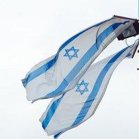 Израильские флаги на ветру :: Игорь Герман