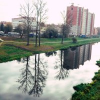 Красота осенняя в Орше :: Марина Романова