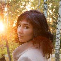 В лучах уходящего солнца :: Ольга Зябкина