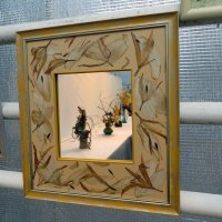 Рамка,Выставка Икебаны :: татьяна петракова