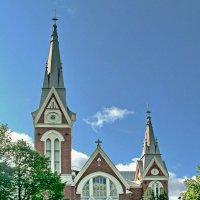 Кафедральный собор в Йоэнсуу :: Олег Попков