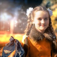 Солнечная... :: Наталия Анфиногентова