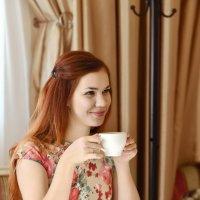 утренний  кофе :: Евгения Полянова