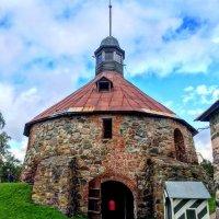 Круглая воротная башня Ларса Торстенссона (Пугачевская). Крепость Корела. :: Константин Поляков