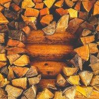 Любовь в дрова :: Сергей Алексеев
