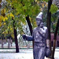 А у нас снег :: Вячеслав Платонов