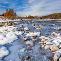 Лёд и снег по берегам :: Анатолий Иргл