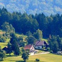 усадьба в горах :: Сергей Короленко