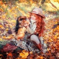 Осень - рыжая девчонка) :: Юлия Графова
