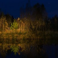 Ночь на озере :: Va-Dim ...