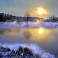 Закат поздней осени....2. :: Андрей Войцехов