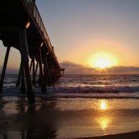 Калифорнийский закат. Тихий океан. :: Vasilii Pozdeev