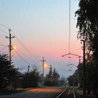 Утро в пригороде :: Сергей Чиняев
