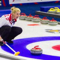 Чемпионат мира по Кёрлингу :: Екатерина Краева