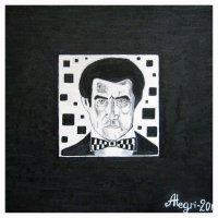 Казимир Малевич в черном квадрате :: Алексей Гришанков (Alegri)