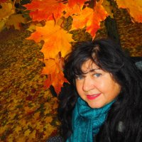 Желтый лист кленовый :: Gerchiana