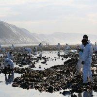 Даниил Демкин - Добровольцы на ликвидации нефтеразлива :: Фотоконкурс Epson