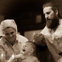 Юлия Старостина - Крещение