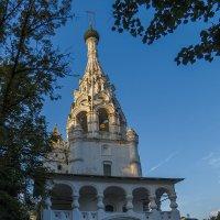 Колокольня церкви Рождества Христова в Ярославле :: Сергей Цветков