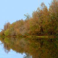 У осенней реки :: Андрей Заломленков