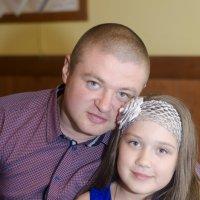 папа с дочкой :: Ольга Русакова
