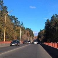 Дорога в город :: Елена Семигина