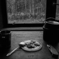 завтрак с бабочкой :: Алексей Цирятьев