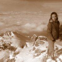 На вершине горы Фурманова (Фурмановка) 3053 м. :: Anna Gornostayeva