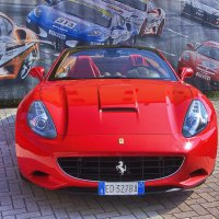 California это не только что то где то, это ещё и Ferrari! :: M Marikfoto