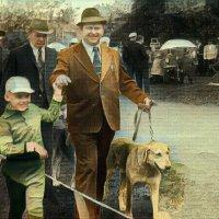 Мишенька и отец герой панфиловец :: Михаил Филатов